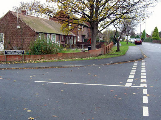 A plain dropped kerb may be difficult to detect by anyone